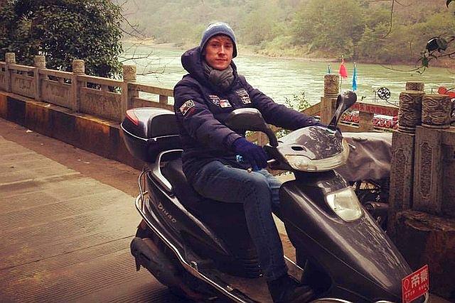 Paweł Łubiarz sam jest podróżnikiem, zwiedził już 20 krajów