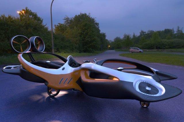 Hoverbike Raptor - takiego pojazdu jeszcze w Polsce nie było.