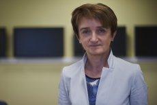 Maria Wasiak - Minister Infrastruktury i Rozwoju Regionalnego.