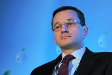 Wicepremier i minister rozwoju Mateusz Morawiecki.