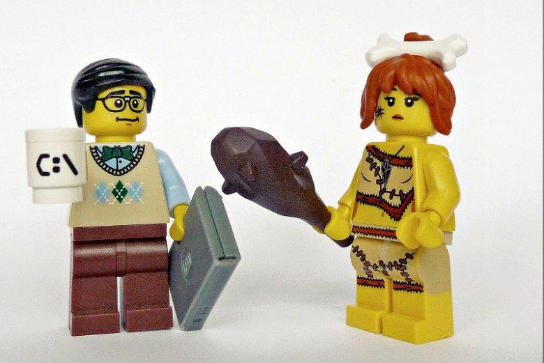 LEGO równouprawnienie :)