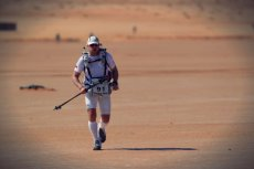 Daniel Lewczuk podczas Sahara Race.