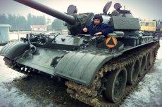 Czołg T-55 to potężna maszyna