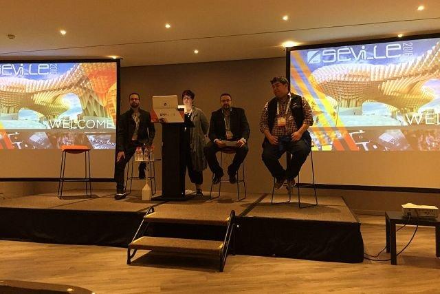 Zespół Nethone na konferencji w Sevilli