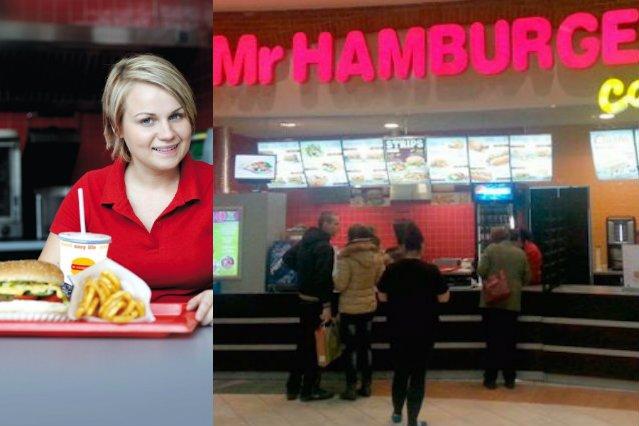 Mr Hamburger działa od 1990 roku.