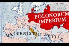 Mapa imperium Lechitów w trzecim wieku przed naszą erą.