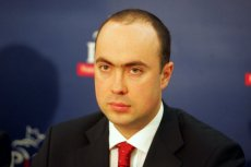 Maks Kraczkowski, na zdjęciu jeszcze w roli posła