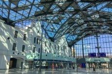 Dworzec Łódź Fabryczna, jedyny gotowy element naszego systemu kolei dużych prędkości, jak na razie nie przyciąga zbyt wielu podróżnych.