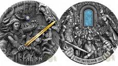 Monety inspirowane sagą o wiedźminie Geraltcie będą prawdziwą gratką dla fanów twórczości Andrzeja Sapkowskiego.