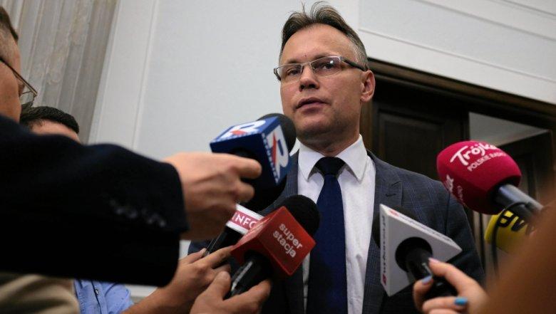 Poseł PiS Arkadiusz Mularczyk, przewodniczący parlamentarnego zespołu ds. reparacji.