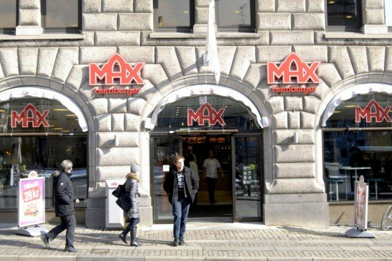 Restauracja Max Burgers w Kopenhadze.