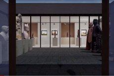 Student z AGH stworzył wirtualną galerię sztuki. Na powierzchni 690 mkw. przedstawia ponad 140 prac Zygmunta Niewiadomskiego, swojego sąsiada.
