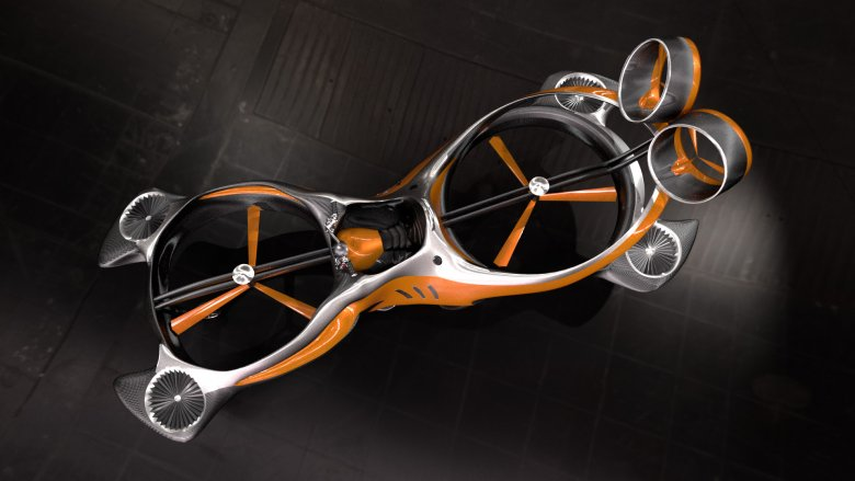 Hoverbike, innowacyjny pojazd, nad którym pracuje polska firma.
