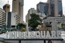 Plac Tinubu w Lagos, stolicy Nigerii