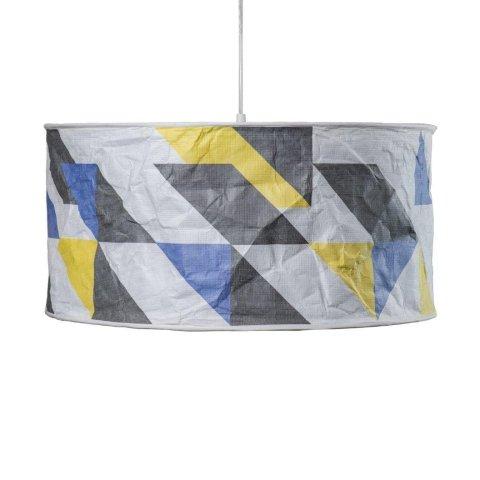 Lampa Lineworks z materiału Tyvek® z zadrukiem.