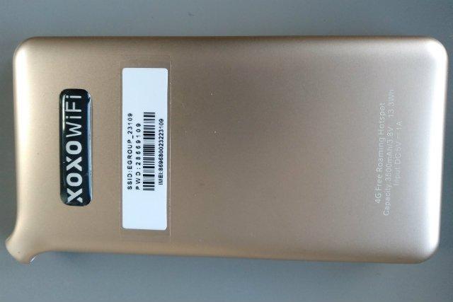 Router XOXO WiFi da się zmieścić w kieszeni