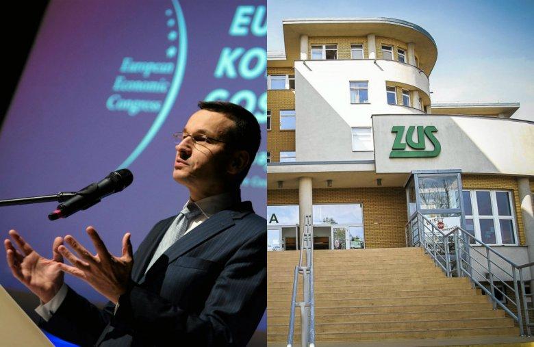 Mateusz Morawiecki zapowiadał ułatwienia w prowadzeniu biznesu, ale wraz ze wzrostem płacy minimalnej robi się kłopot z ZUS