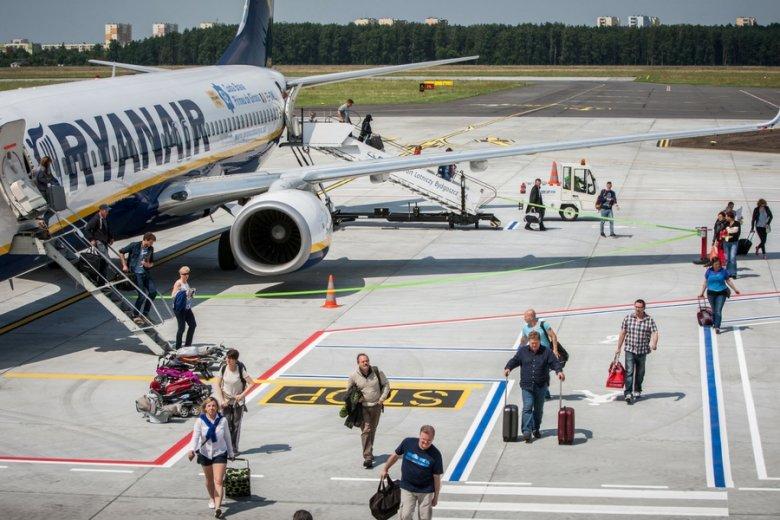 Lotnisko w Bydgoszczy płaci liniom Ryanair 10 mln zł rocznie.