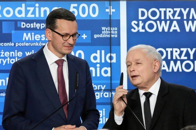 Mateusz Morawiecki musi szybko znaleźć pieniądze, które obiecał rozdać Jarosław Kaczyński
