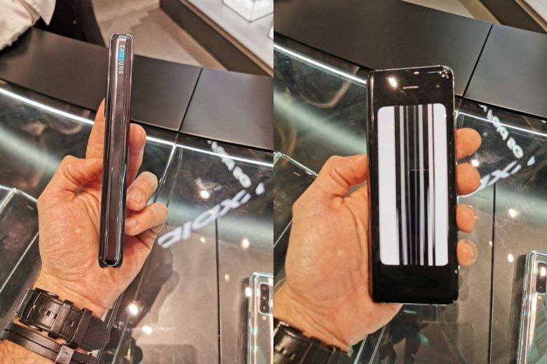 Wady konstrukcyjne pierwszej wersji Samsung Galaxy Fold zostały naprawione.