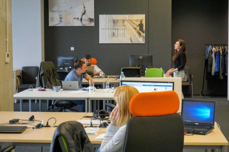 Wrocławskie biuro firmy Datarino Group.