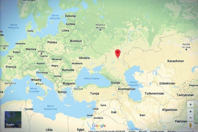 Wołgograd to miasto pośrodku niczego