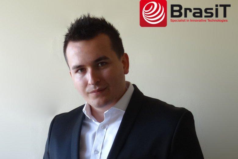 Paweł Bracha, założyciel kurowskiej firmy BrasiT.