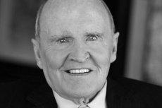 Jack Welch zmarł w wieku 84 lat w otoczeniu rodziny i ukochanych psów.