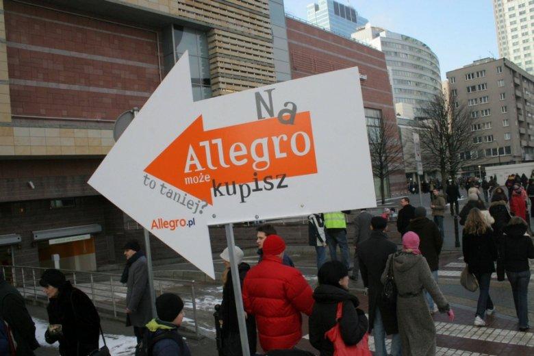 Finalizując transakcje poza Allegro ponosimy znacznie większe ryzyko w razie wpadki - ostrzega największa polska platforma handlowa.