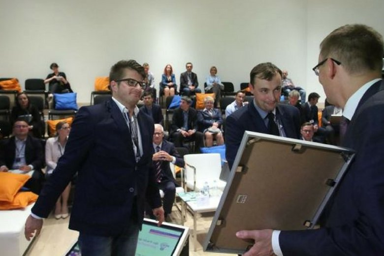 Wojciech Kojder i Michał Marczak, współzałożyciele sprzedajodpady.pl.