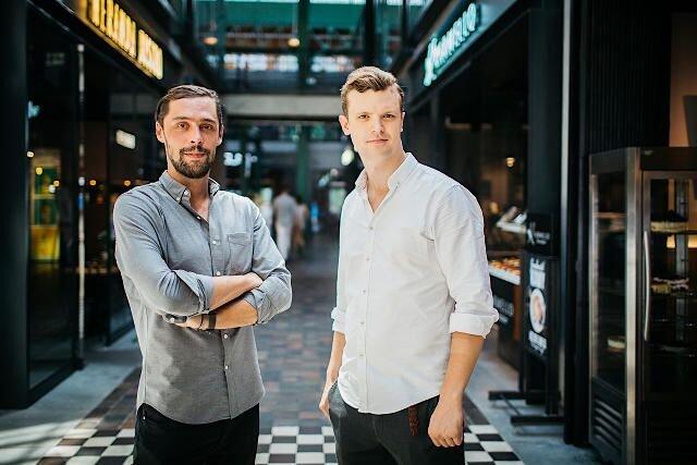 Paweł Światczyński i Maciek Żakowski, twórcy Restaurant Week