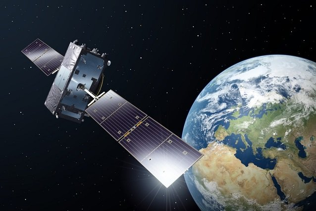 Wizualizacja Satelity Galileo.