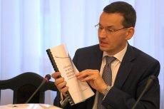 Wicepremier i minister finansów Mateusz Morawiecki bardzo swobodnie żongluje pojęciami a także liczbami.