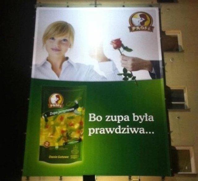 Kobieta w reklamie to przede wszystkim kura domowa, której ambicją jest zaspokajanie potrzeb męża.