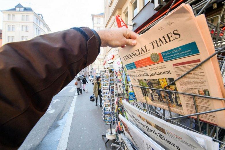 """""""Financial Times"""" postanowił rozprawić się z kryptowalutą Saga."""