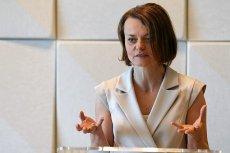"""Minister przedsiębiorczości i technologii Jadwiga Emilewicz twierdzi, że """"przedsiębiorczość w Polsce ma twarz kobiety""""."""