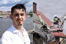 Piotr Szuster, autor alternatywnego systemu ostzregającego przed gwałtownymi zjawiskami pogodowymi