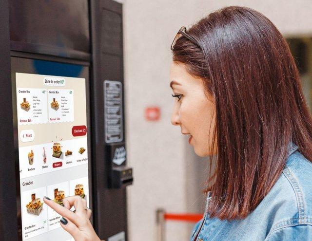 Cyfrowe kioski to tylko pierwszy krok w stronę cyfryzacji sieci fast food