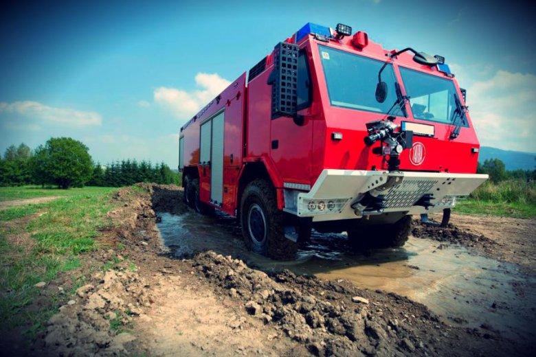 Są takie państwa na świecie, w których jest jeden samochód pożarniczy na cały kraj i jest to właśnie samochód z Bielska-Białej. Tak jest na przykład w Kongo
