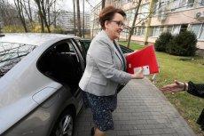 Minister edukacji narodowej Anna Zalewska. Zgodnie z informacjami resortu zwróciła na konta Caritas przyznaną jej w 2017 r. przez premier Beatę Szydło nagrodę.