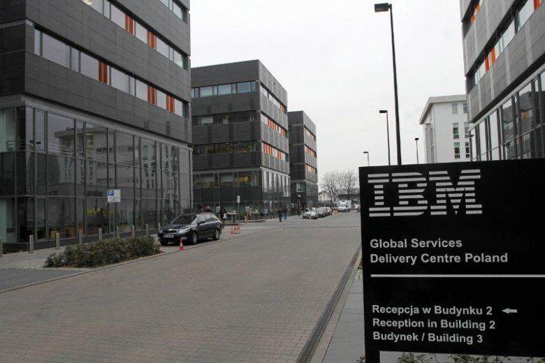 Siedziba IBM we Wrocławiu.