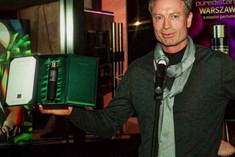 "Jan Ewoud Vos, inicjator powstania perfum ""Warszawa"","