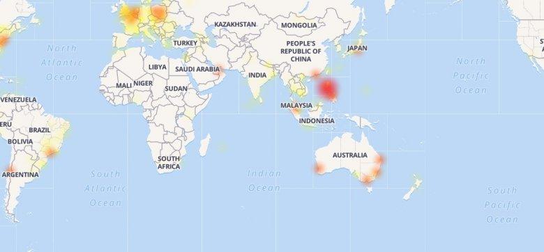 Mapa pokazuje skalę problemu