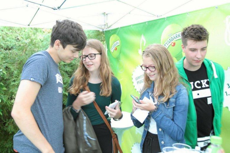 Współtwórcy i bohaterowie Studia Tymbark na Olsztyn Green Festival 2016.