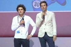 Patryk Kabaj i Konrad Kwiatkowski podczas ABSL Startup Challenge.