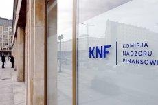 Urzędnicy KNF, którzy przygotowali krytyczny raport na temat kondycji finansowej SKOK-ów już nie pracują