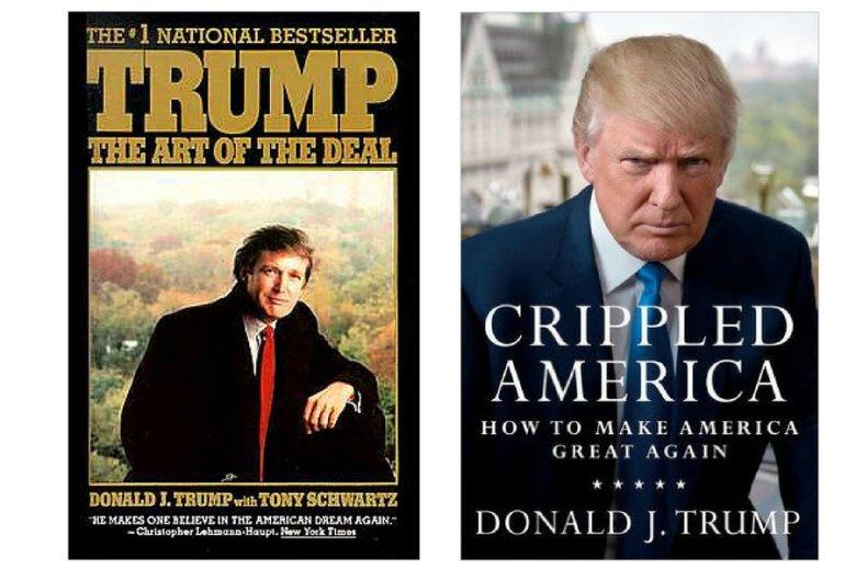 Do tej pory Donald Trump podpisał się pod 19 książkami. W większości to poradniki motywacyjno-biznesowe.