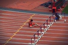 Chiński sprinter Liu Xiang właśnie stracił szansę na olimpijski medal