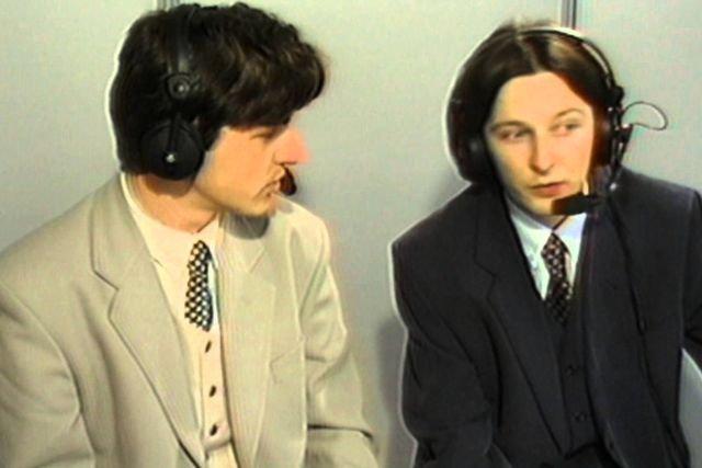 Andrzej Twarowski i Tomasz Smokowski u progu kariery w stacji Canal Plus