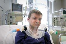 Inicjatorem projektu mającego stworzyć hełm do nieinwazyjnej wentylacji jest lek. Łukasz Wróblewski z WUM.